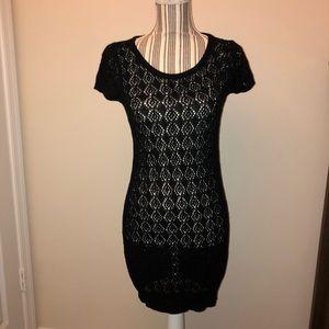 Tulle brand Knit T-Shirt Dress
